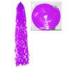 Бумажная спираль, 100 см, цвет фиолетовый