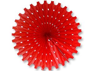 Фант бумажный красный