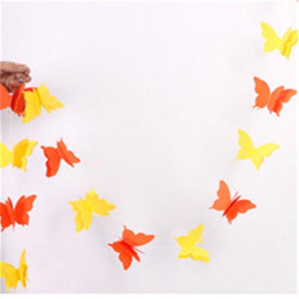 Гирлянда, Бабочки Оранжевые