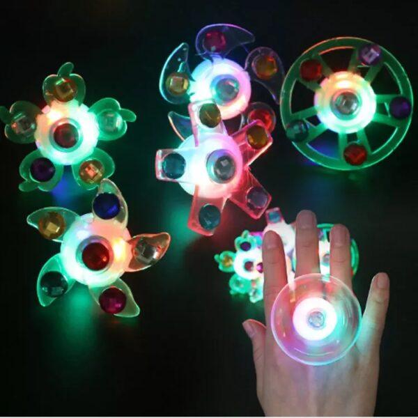 Кольца Спинеры Светящиеся