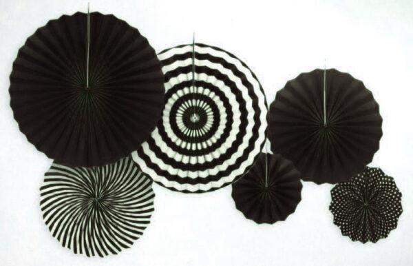 Набор Фанты бумажные черный