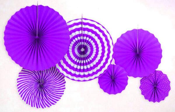 Набор Фанты бумажные фиолетовый