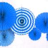 Набор Фанты бумажные голубой