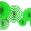 Набор Фанты бумажные светло- зеленый
