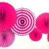 Набор Фанты бумажные ярко - розовый