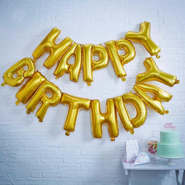 Набор Happy Birthday Золото