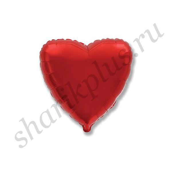 "Ф Б/РИС 18"" СЕРДЦЕ Металлик Red"