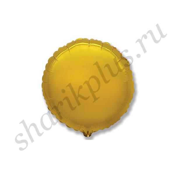 "Ф Б/РИС 18"" КРУГ Металлик Gold"