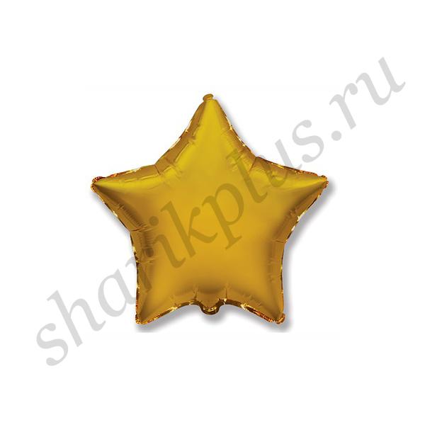 """Ф Б/РИС 18"""" ЗВЕЗДА Металлик Gold"""