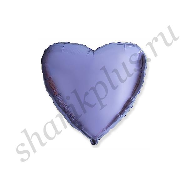 "Ф Б/РИС 18"" СЕРДЦЕ Металлик Lilac"