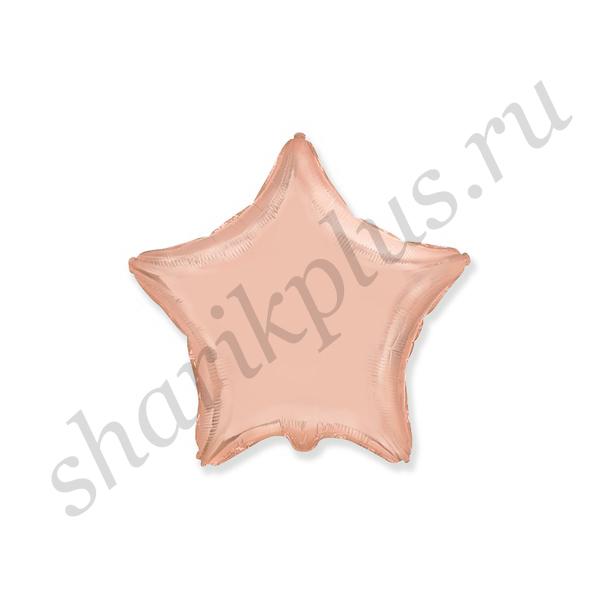 "Ф Б/РИС 18"" ЗВЕЗДА Металлик Rose Gold"