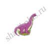 Ф М/ФИГУРА/3 Динозавр розовый(FM)