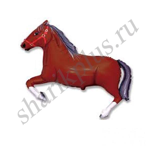 Ф М/ФИГУРА/3 Лошадь коричневая(FM)