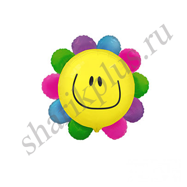 Ф М/ФИГУРА/3 Цветок радужный/FM