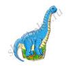 Ф ФИГУРА/11 Динозавр голубой(FM)