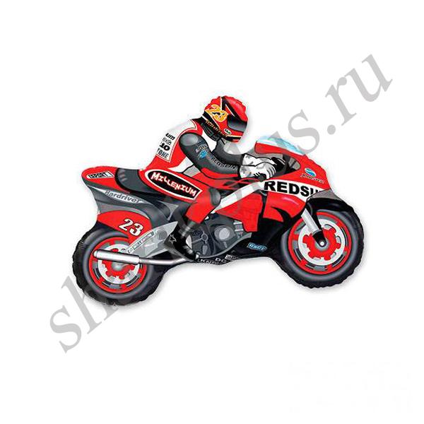 Ф ФИГУРА/11 Мотоциклист красный/FM