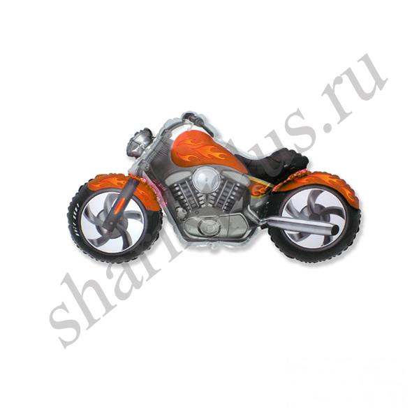 Ф ФИГУРА/11 Мотоцикл оранжевый/FM