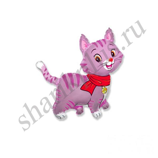 Ф ФИГУРА/11 Кошечка с шарфом розовая/FM