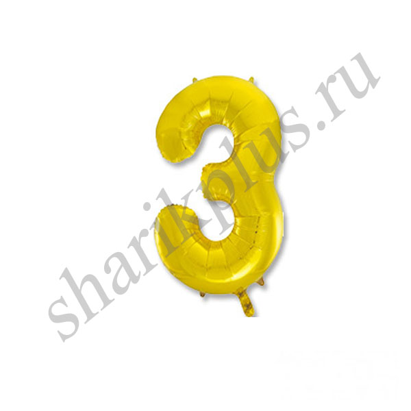 42''/107 ЦИФРА 3 Gold