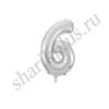 42''/107 ЦИФРА 6 Silver