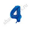 42''/107 ЦИФРА 4 Blue