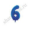 42''/107 ЦИФРА 6 Blue