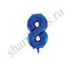 42''/107 ЦИФРА 8 Blue