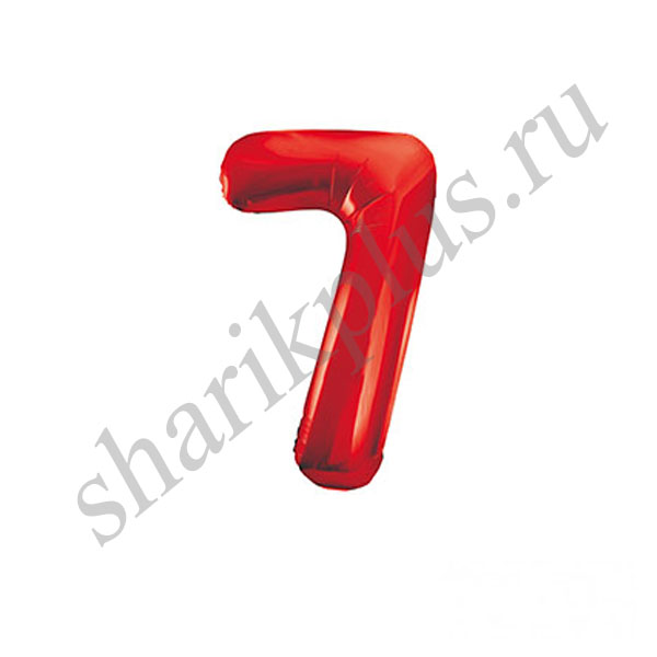 42''/107 ЦИФРА 7 Red