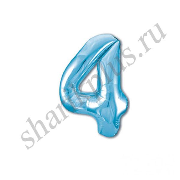 42''/107 ЦИФРА 4 Light Blue