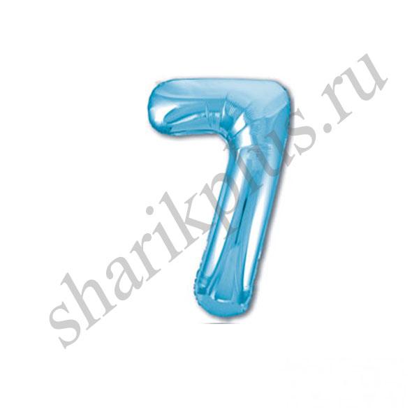 42''/107 ЦИФРА 7 Light Blue