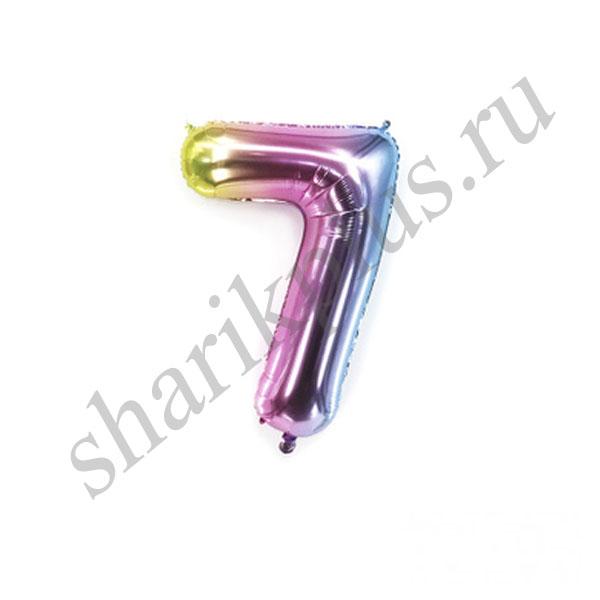 42''/107 ЦИФРА 7 Радужная