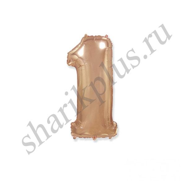 42''/107 ЦИФРА 1 ROSE GOLD