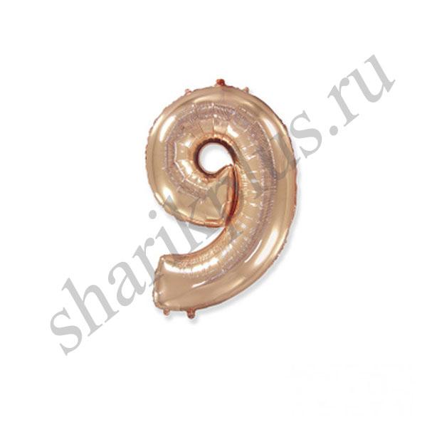 42''/107 ЦИФРА 9 ROSE GOLD