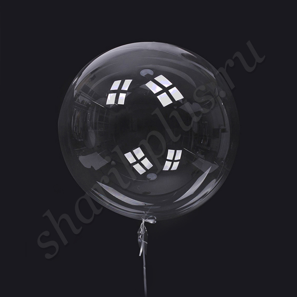 "Г 24""/60 Сфера Bubble прозрачная."