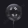 "Г 36""/90 Сфера Bubble прозрачная."