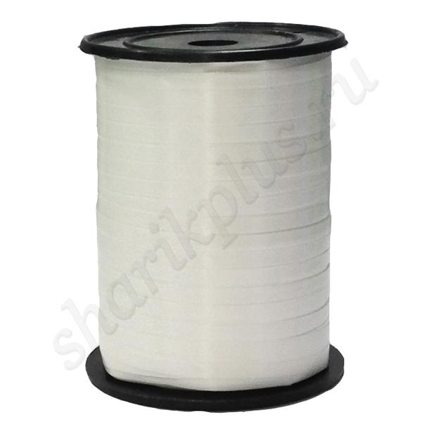 Лента (0,5 см х 500 м) Белая.