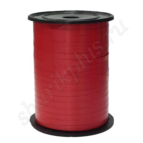 Лента (0,5 см х 250 м) Красная.